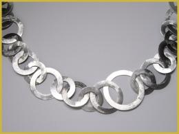 Scheibenkette, 925 Silber