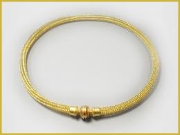 Strickkette, 750 Gelbgold