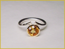 NEU! 585 Rosé-Gold, Silber, Citrin