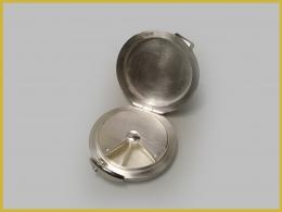Pillendose (geöffnet), 925 Silber