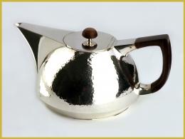 Teekanne, 925 Silber, Meisterstück 1983
