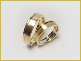 585 Gelbgold-Weißgold